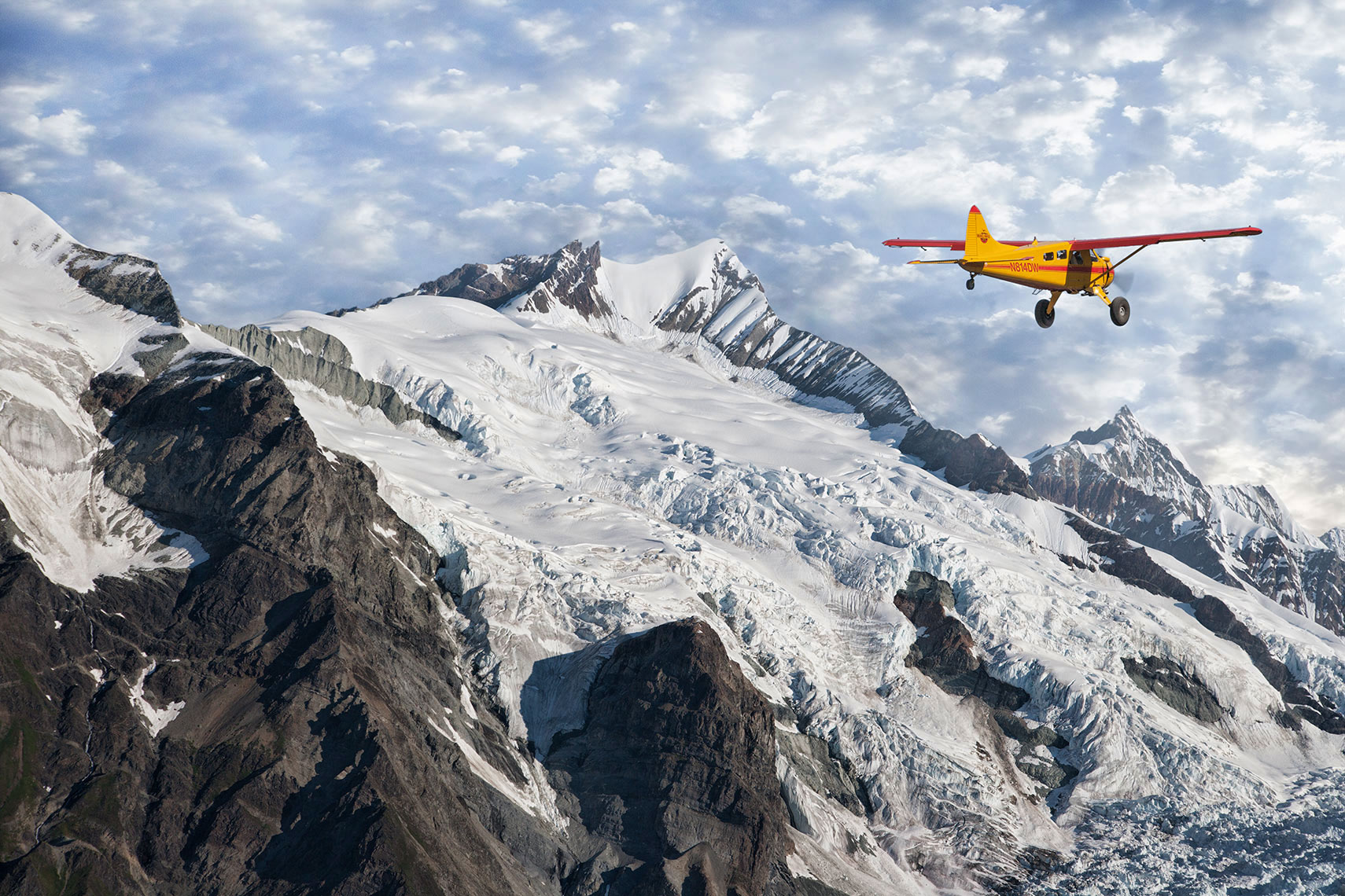 BUSH-PLANE-AND-GLACIER