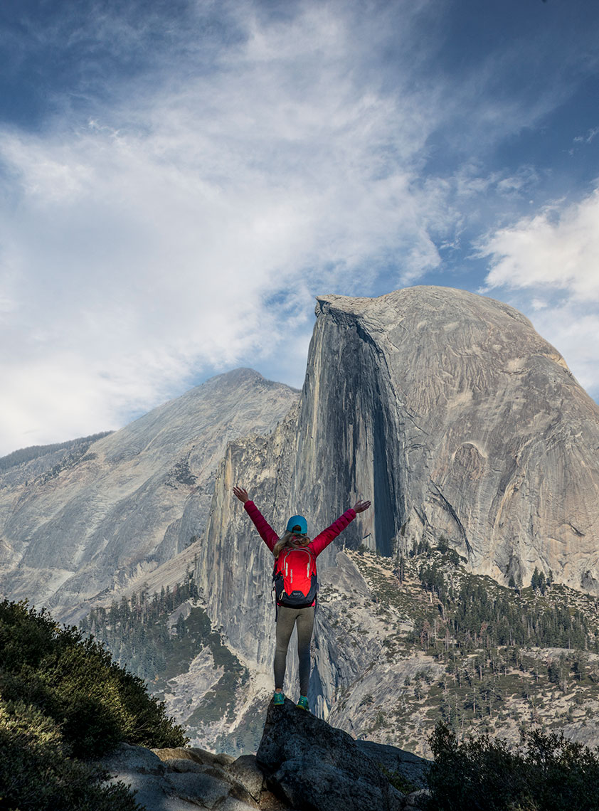 HALF-DOME-GREETING
