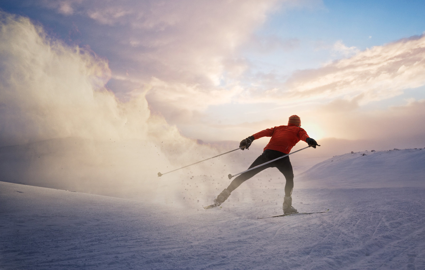 SKATE-SKIING-INTO-THE-SUNSET